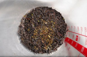 Measured Tea Leaves