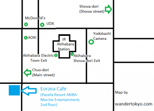 Eorzea Cafe Map