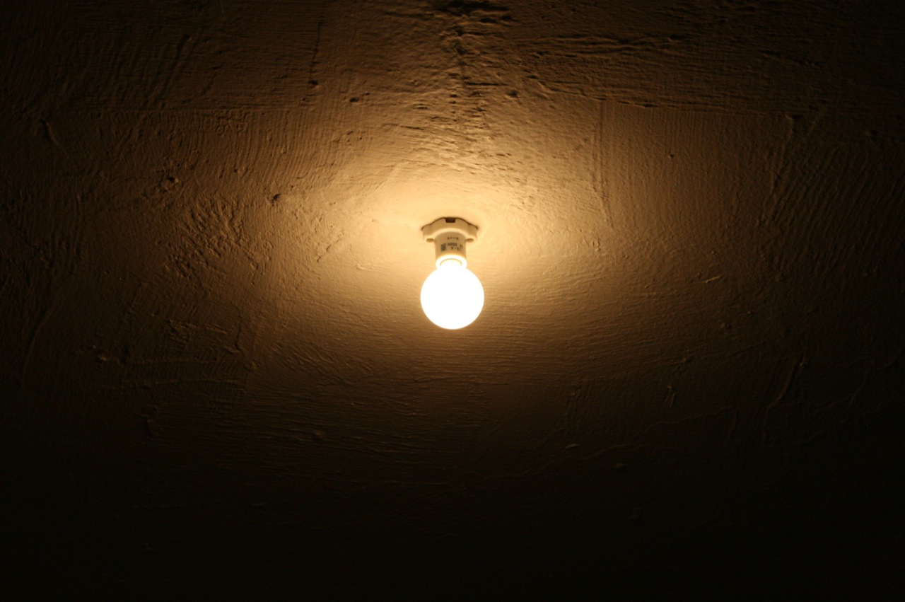 Naked lightbulb